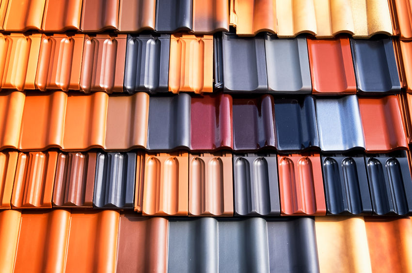 different types of roofing tiles